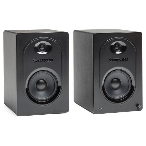 Samson MediaOne M50 Powered Studio Monitor (Pair) - Main