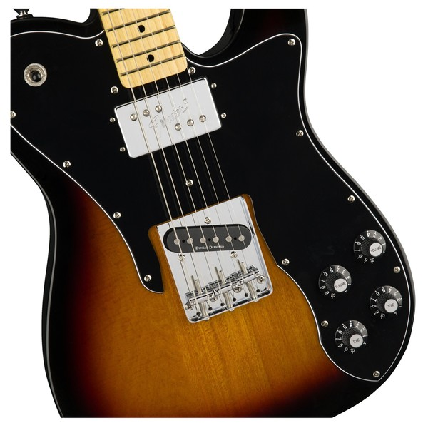 Squier Vintage Modified Telecaster Custom, 3-Color Sunburst Close