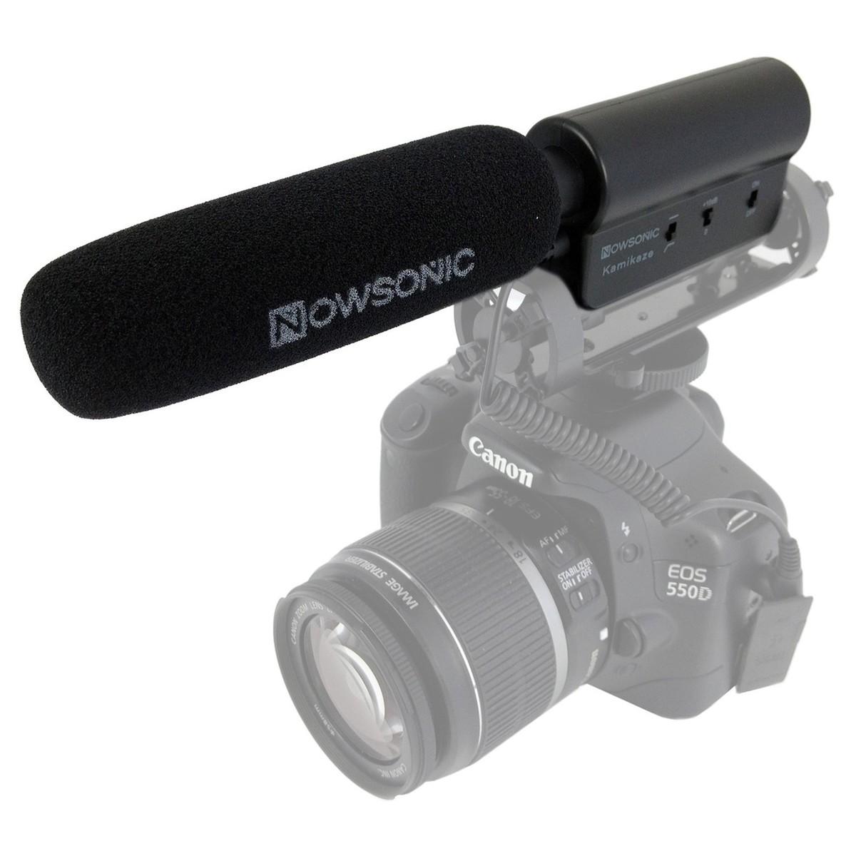 Nowsonic Kamikaze Pro Stereo Shotgun Microphone for DSLR