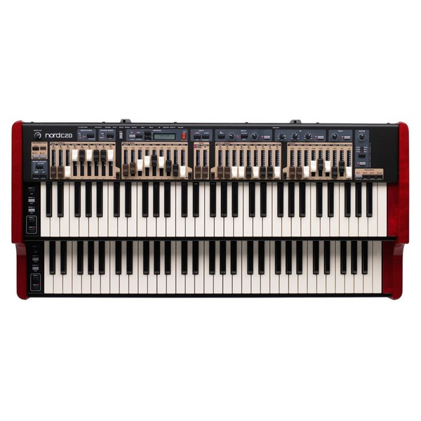 Nord C2D Combo Organ - Top