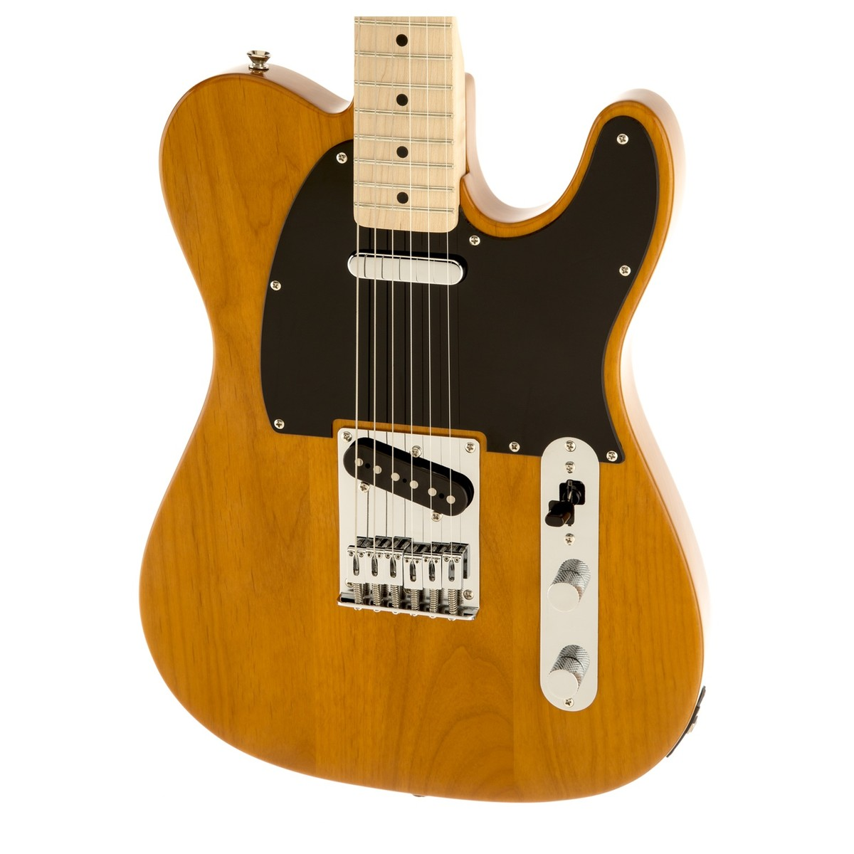 Squier Affinity Telecaster Mn Butterscotch Yamaha Ga 15ii Bundle A Wiring Output Jack Prs Loading Zoom
