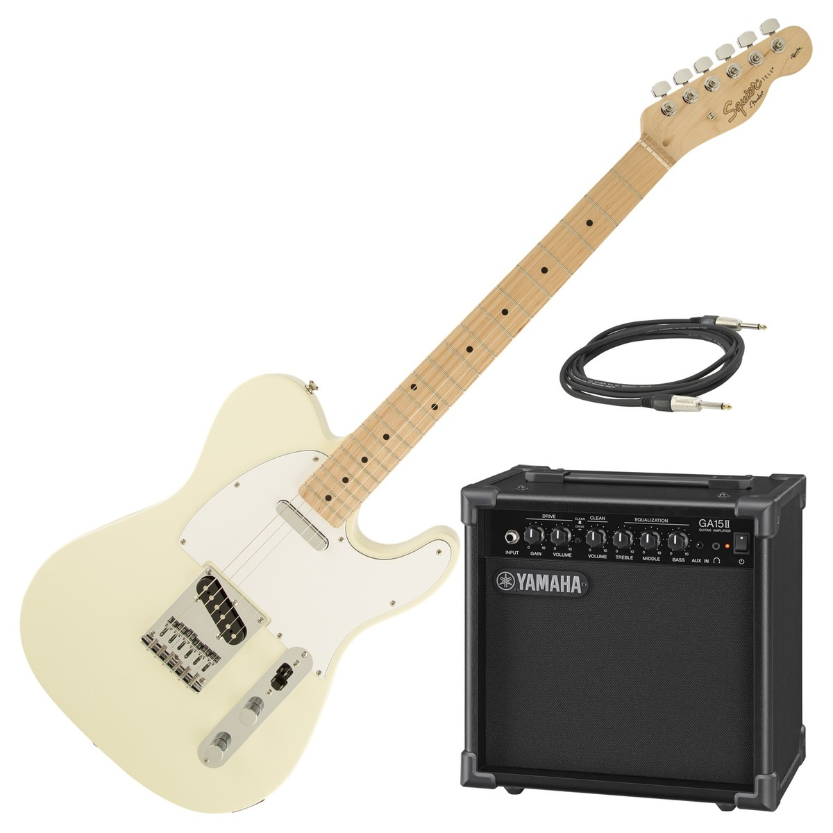 Squier Affinity Strat Wiring Diagram: DISC Squier Affinity Telecaster MN, Arctic White & Yamaha