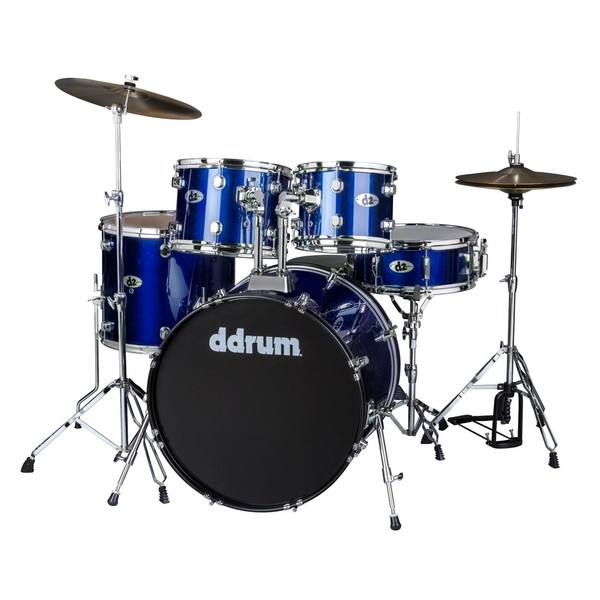 DDrum D2 5pc Drum Kit, Police Blue - Main Image