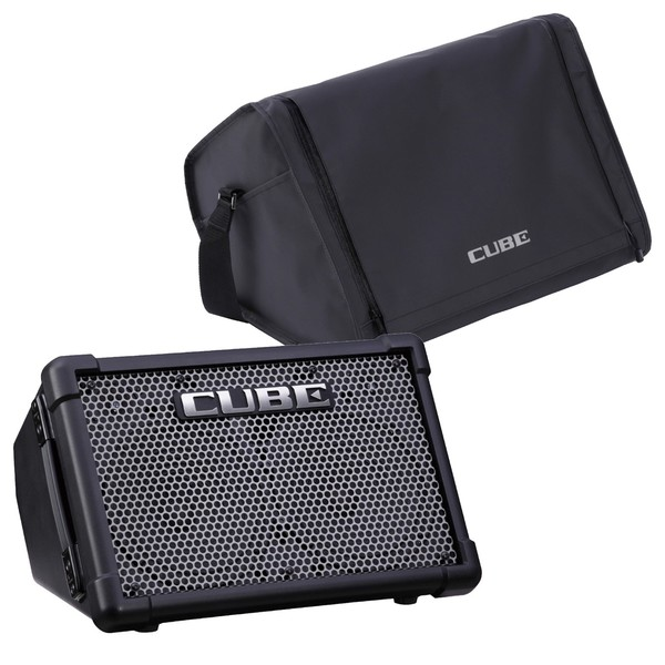 Roland CUBE Street EX Battery Powered Stereo Amplifier w/ Case - Main