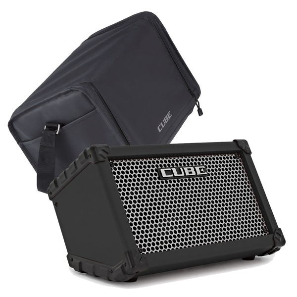 Roland Street Cube, Black w/ Carrying Case - Main