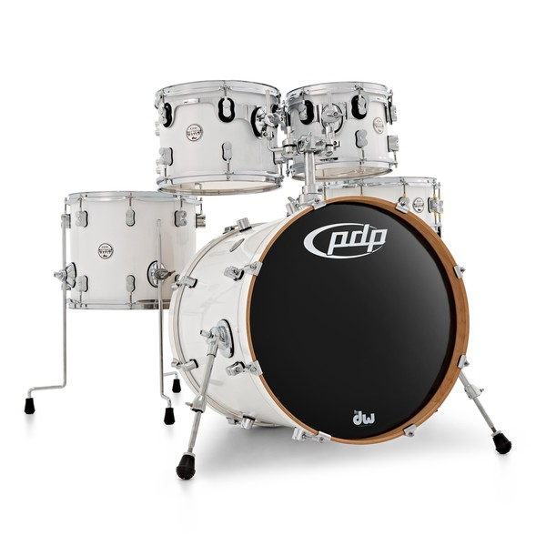 PDP Concept Maple 20'' 5pc Shell Pack, Pearlescent White