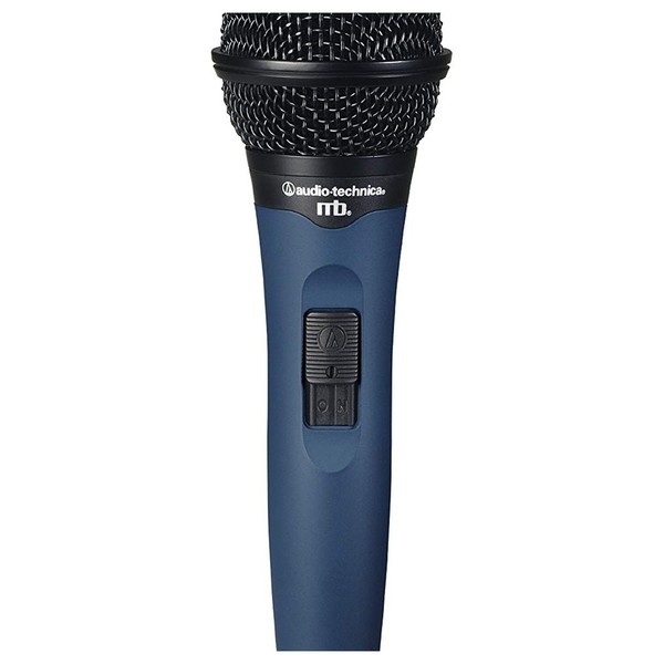 Audio Technica MB1K Dynamic Vocal Microphone, Switch