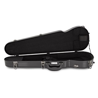 Sinfonica Violin Case, Shaped 4/4 Fibreglass, Black
