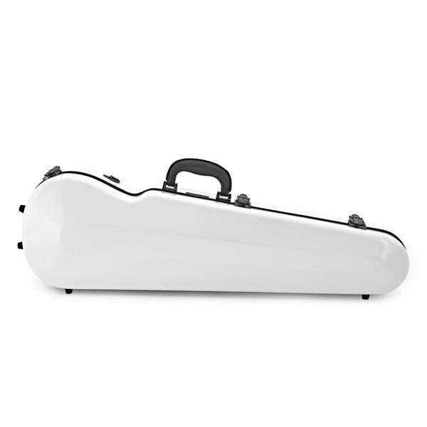 Sinfonica Violin Case, Shaped 4/4 Fibreglass White