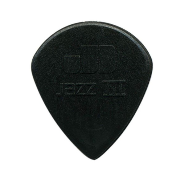Dunlop Nylon Jazz III Black Stiffo 1.38mm, Main Image