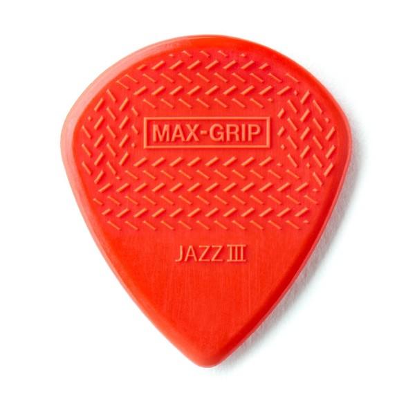 Dunlop Nylon Max Grip Jazz III Red 1.38mm, Main Image