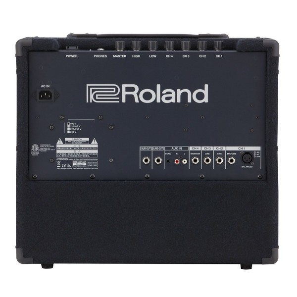 Roland KC-200 Amplifier Back