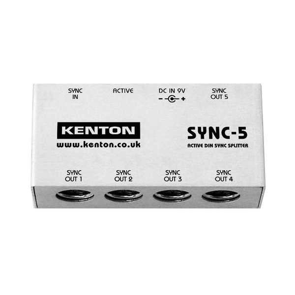 Kenton SYNC-5 1 In to 5 DIN Sync Box (No MIDI) - Main