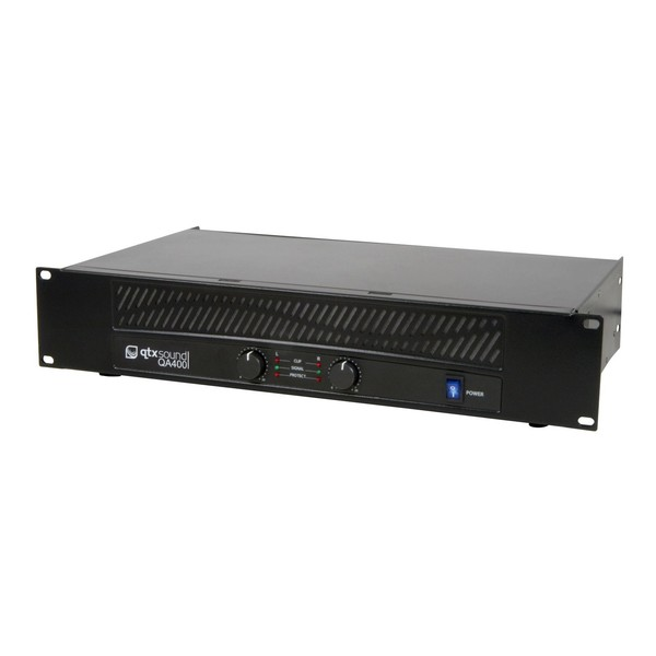 QTX QA400 400W Power Amp, Side