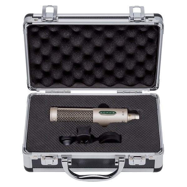 R-10 Passive Mono Ribbon Microphone - Open Case