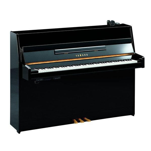 Yamaha B1 SC2 Silent Piano, Polished Ebony