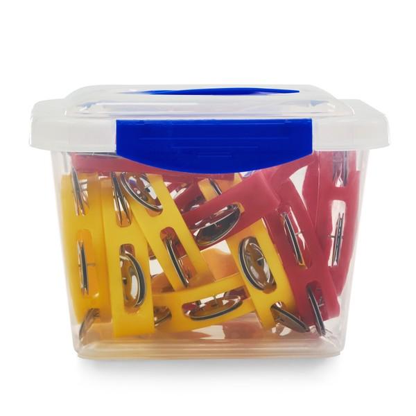 Mini plastic Tambourine in bucket 10pcs main