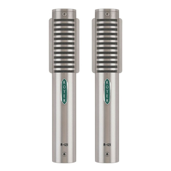 Royer R-121 Studio Ribbon Microphone, Matched Pair - Main