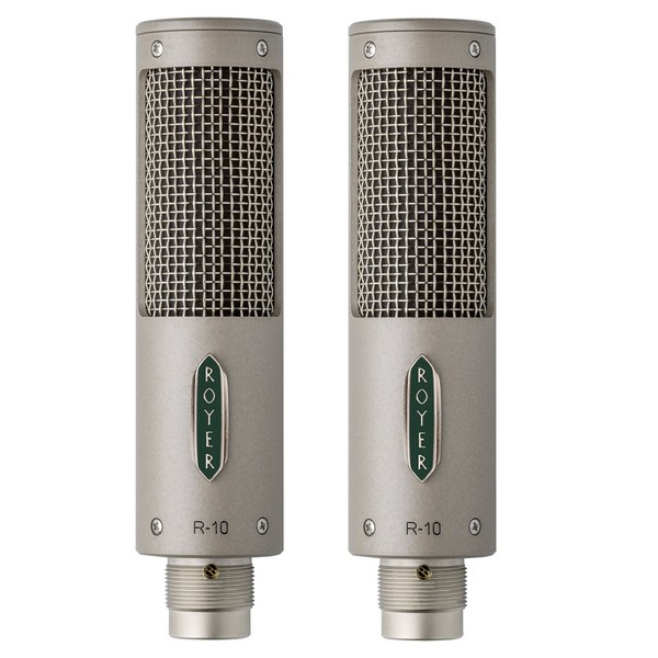 Royer R-10 Passive Mono Ribbon Microphone, Matched Pair - Matched Pair