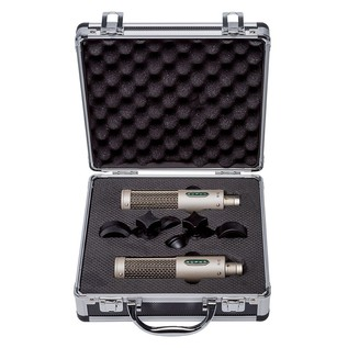 Royer R-10 Passive Mono Ribbon Microphone, Matched Pair - Case Open