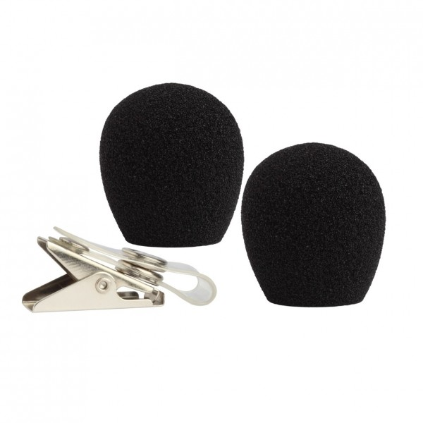 Shure RK318WS Windscreen & Clothing Clip for WH10,WH20,WH30