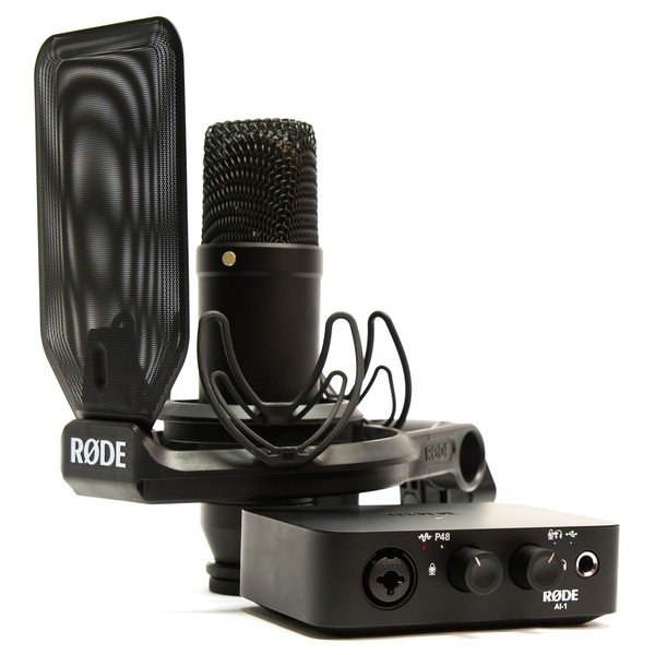 Rode AI-1 Studio Bundle - Bundle