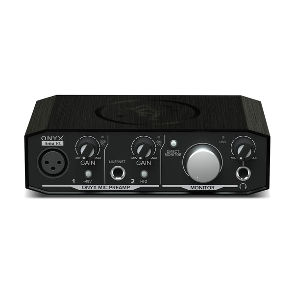 Mackie Onyx Artist 1.2 USB Audio Interface - Front