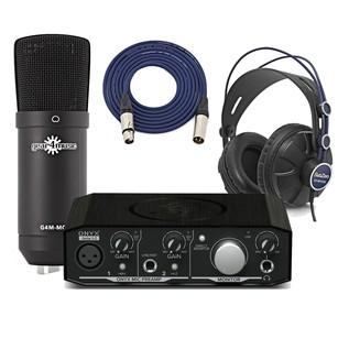 Mackie Onyx Artist 1.2 Vocal Recording Bundle - Main