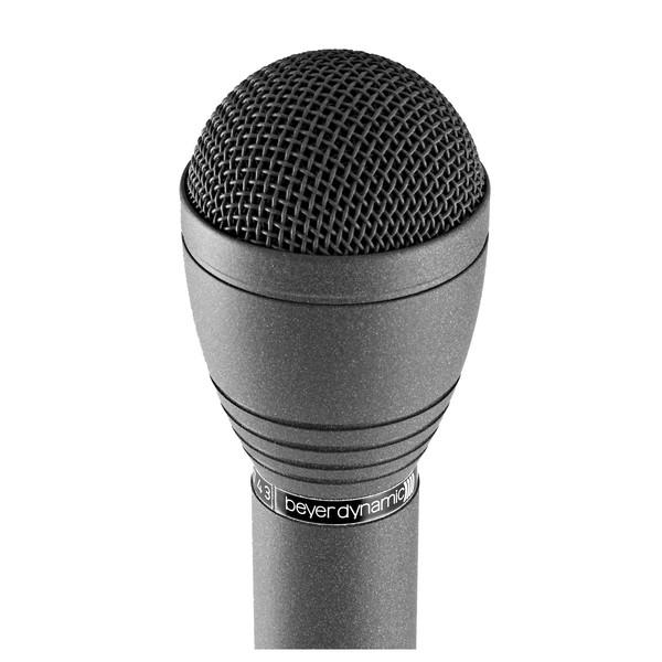Beyerdynamic M58 + WS58 Dynamic, Reporters Microphone close
