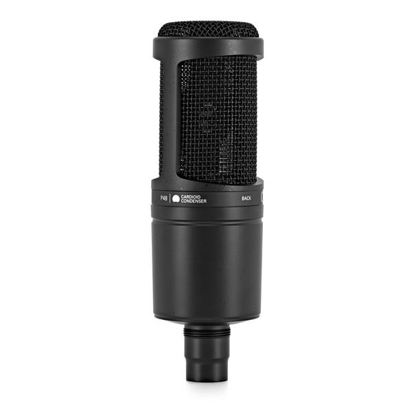 Audio Technica AT2020 Cardioid Condenser Microphone back