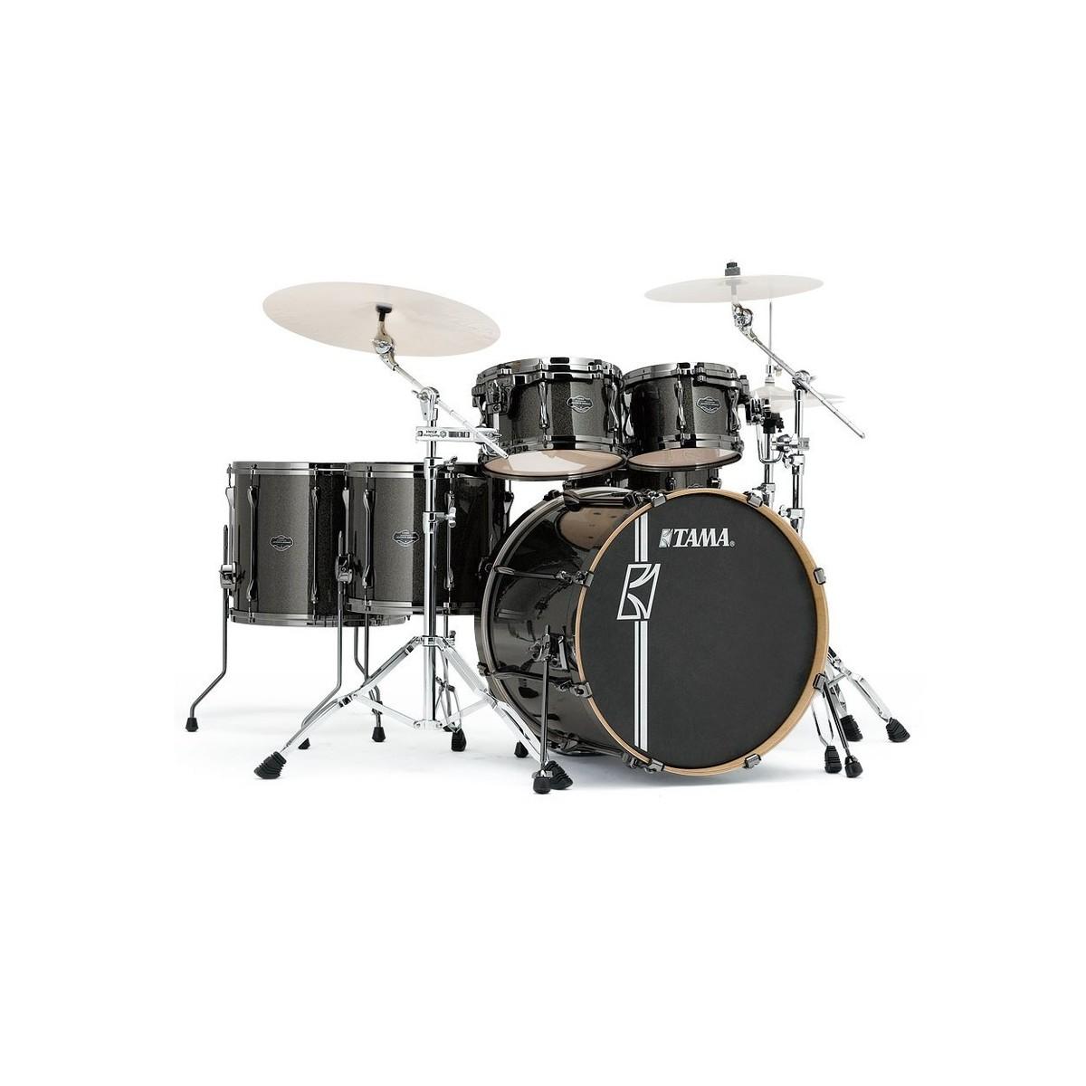 Tama Superstar Hyper-Drive 22'' 5pc Drum Kit, Midnight Gold Sparkle