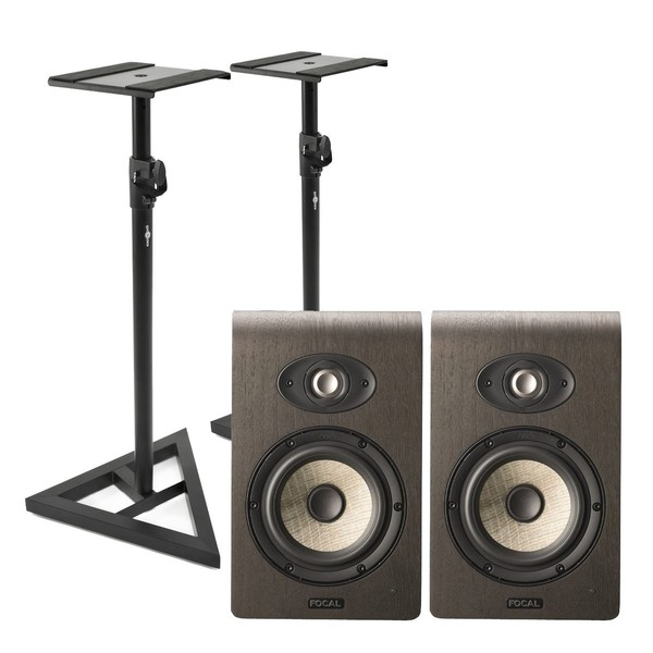 Focal Shape 50 Studio Monitors (Pair) With Stands - Main
