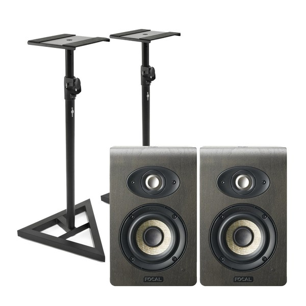 Focal Shape 40 Studio Monitors (Pair) With Stands - Main