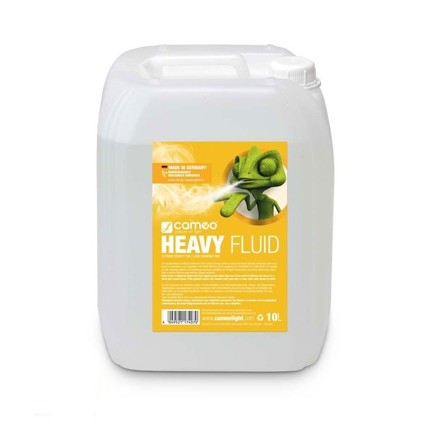 Cameo Heavy Fluid For Fog Machines, 10L
