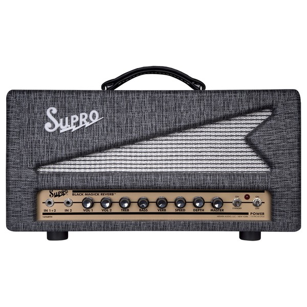 Supro Black Magick Reverb Head