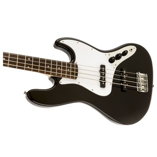 Squier Affinity Jazz Bass, Black Close Left