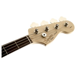 Squier Affinity Jazz Bass, Black Headstock