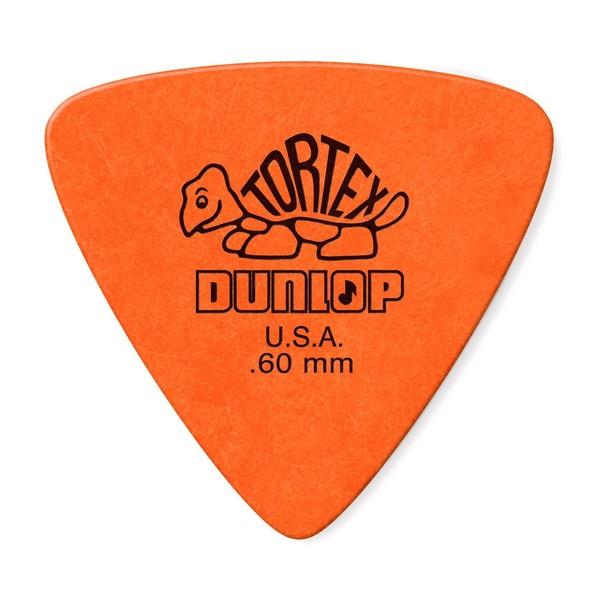 Jim Dunlop Tortex Triangle 0.60mm, 6 Pick Pack Main Image