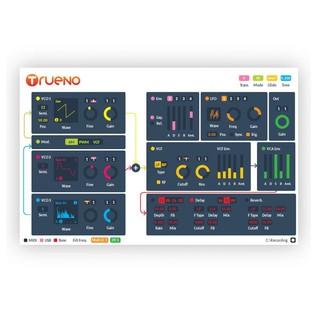 Trueno Hybrid Analog/Digital Micro Synthesizer - Interface Screenshot