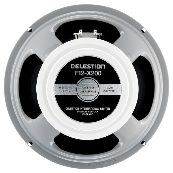 Celestion F12-X200 8 Ohm Speaker Front View