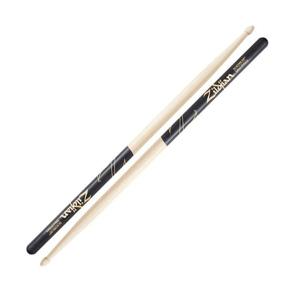 Zildjian 5A Acorn Tip Black Dip Drumsticks - Main Image