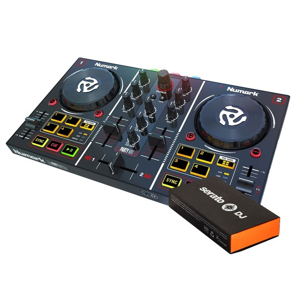 Numark Party Mix and Serato DJ Pro Bundle - Main