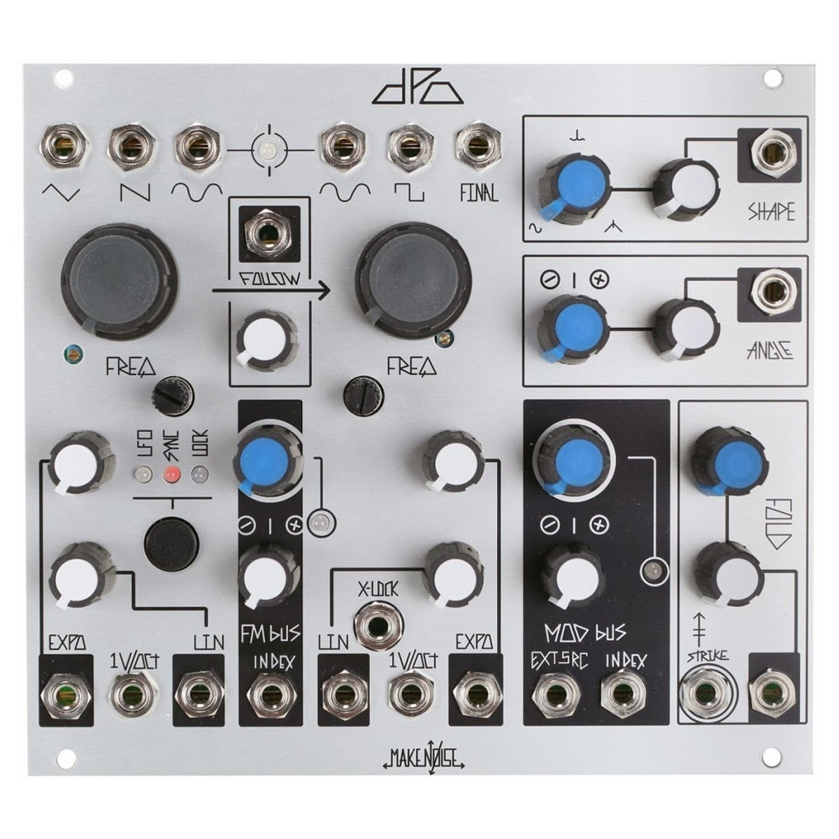 Make Noise Dpo Voltage Controlled Oscillator Box Opened At Gear4music The Vco Circuit That We Will Build Front Loading Zoom