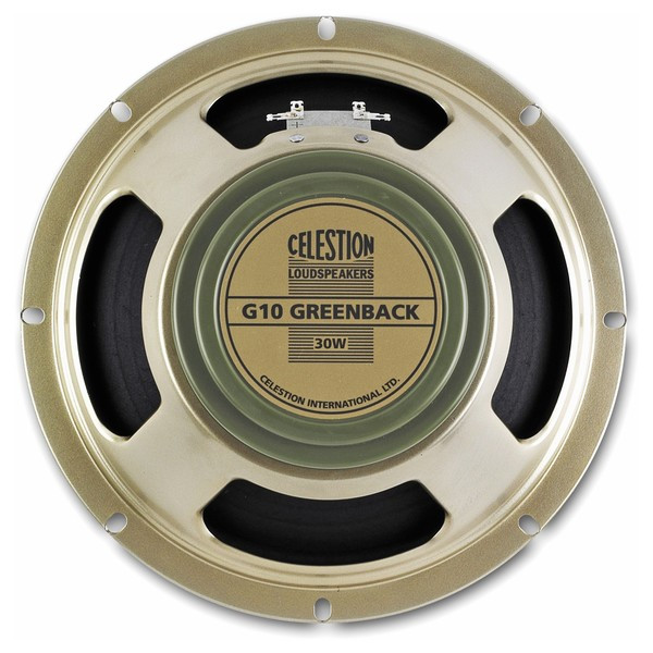 Celestion G10 Greenback 16 Ohm Speaker Front View