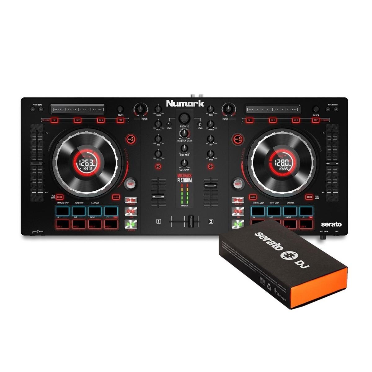 Numark Mixtrack Platinum and Serato DJ Pro Bundle