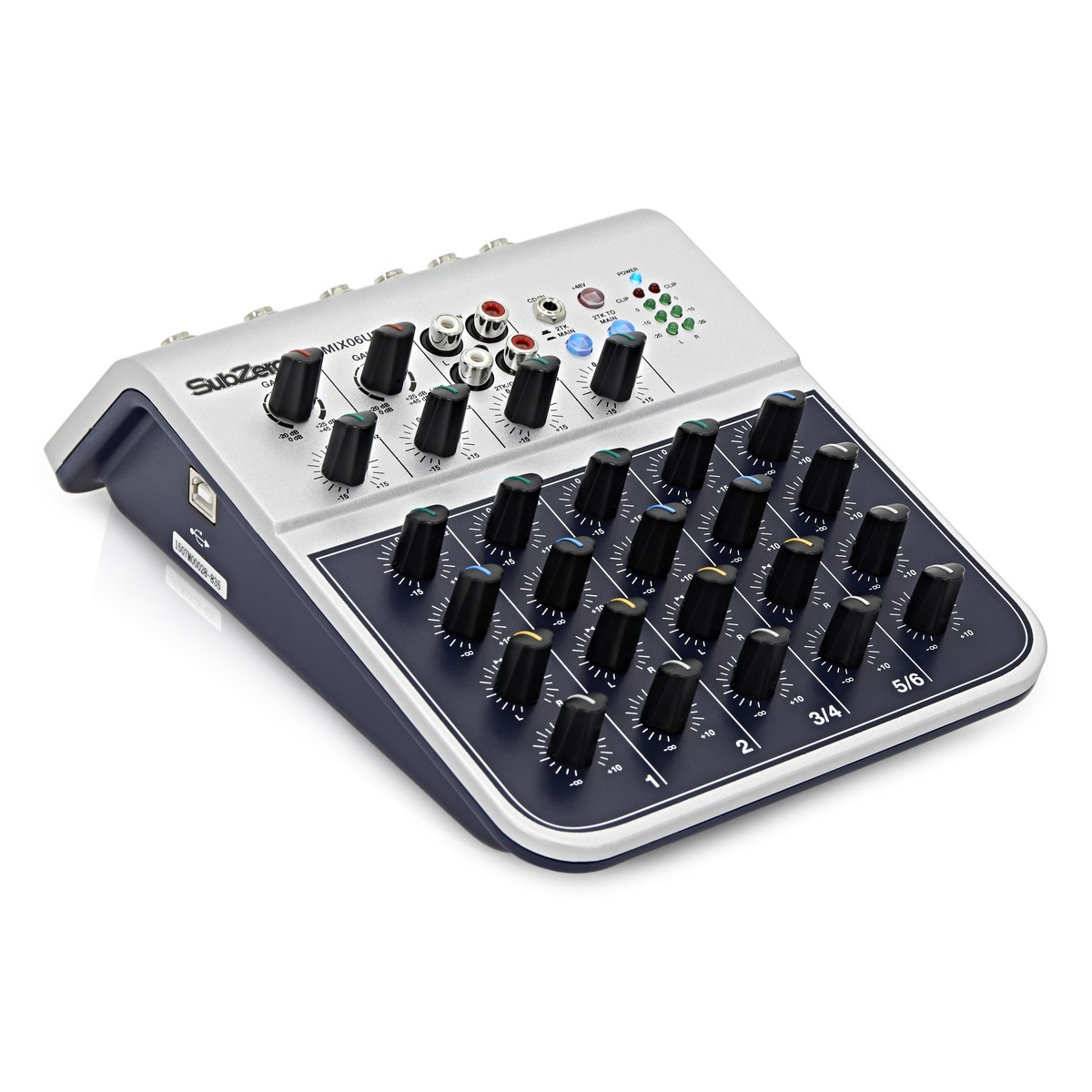 Subzero 6 Channel Mini Mixer And Microphones Bundle At Gear4music Microphone By Loading Zoom