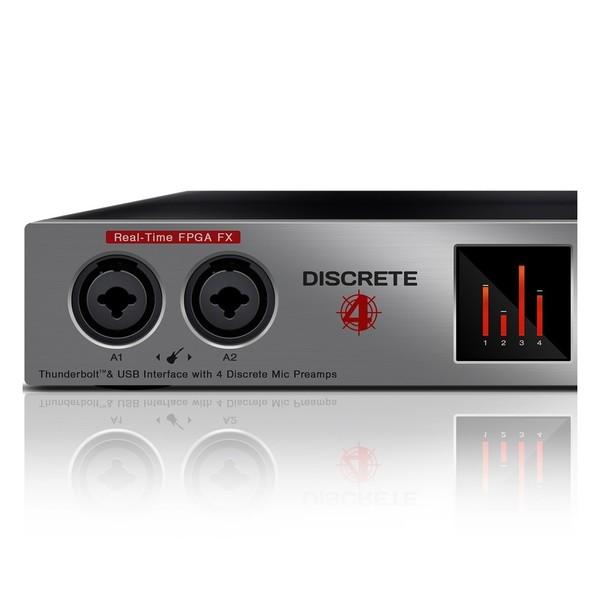 Antelope Audio Discrete 4 - Left Close Up