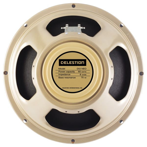 Celestion G12 Neo Creamback 8 Ohm Speaker Front View