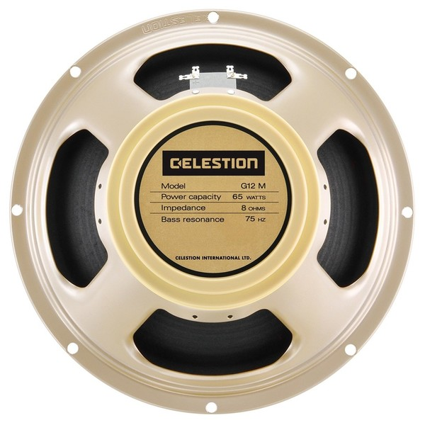 Celestion G12M-65 Creamback 8 Ohm Speaker Front View