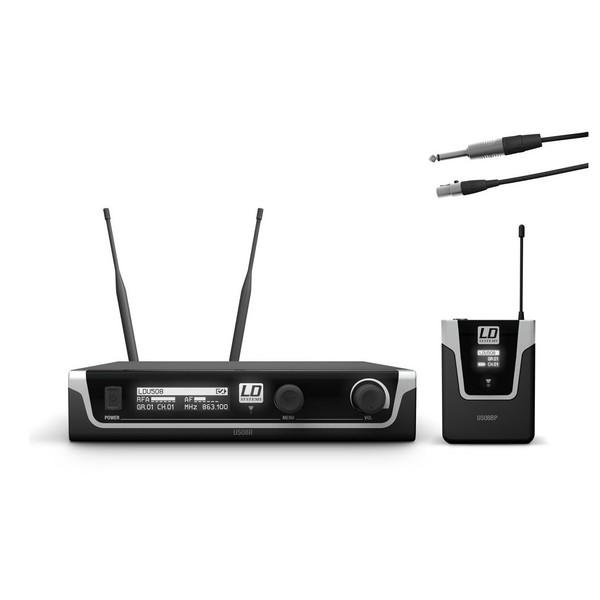 LD Systems U508 BPG Single Transmitter Guitar Wireless System
